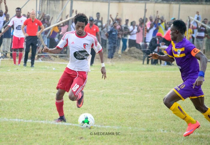 Medeama captain Tetteh Zutah pleased with stalemate against Hearts of Oak