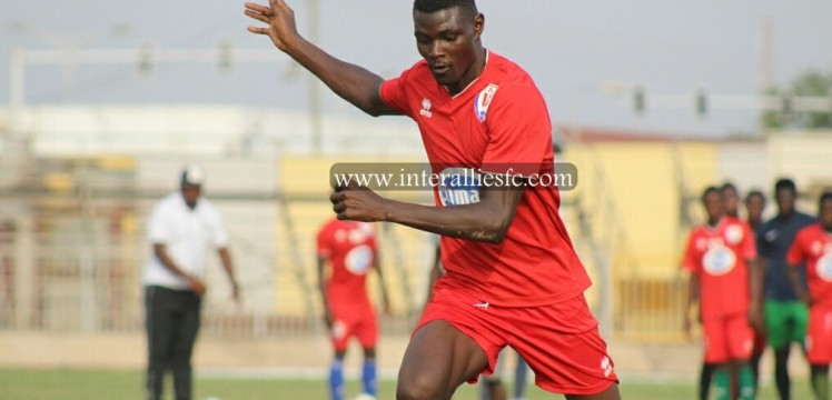 Inter Allies forward Samuel Konney scores on full debut as La-based side beat Dwarfs