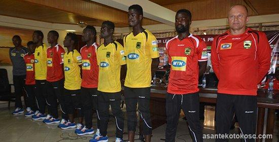 PHOTOS: Asante Kotoko present new signings, head coach and team manager