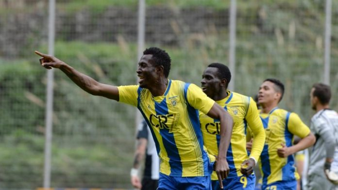 On-loan Kwame Nsor tallies 13 league goals for Uniao Madeira in Portuguese second-tier