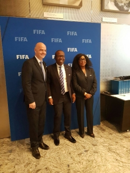 Breaking News: FIFA President Infantino visits Ghana on Monday, to meet Akuffo-Addo