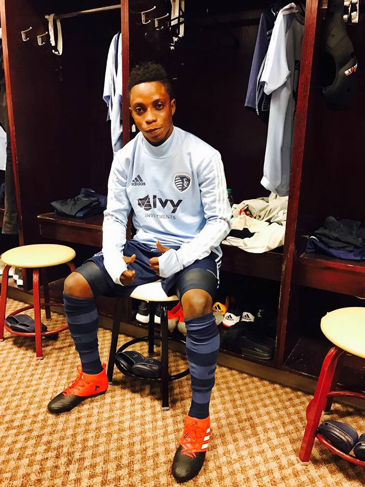 Ghana wonder kid Latif Blessing excels in Sporting KC 3-0 win over NY Red Bull in Desert Diamond Cup