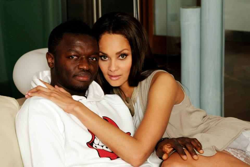 Sulley Muntari's wife Menaye Donkor leaps to his defense in the fight against racism