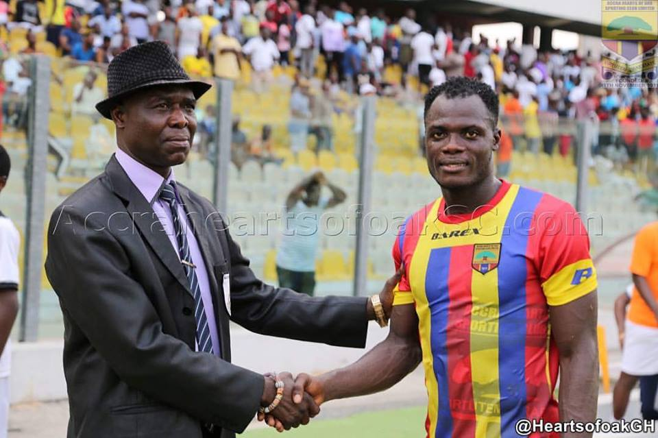 Inusah Musah: Hearts defender wins Man of the Match against Medeama