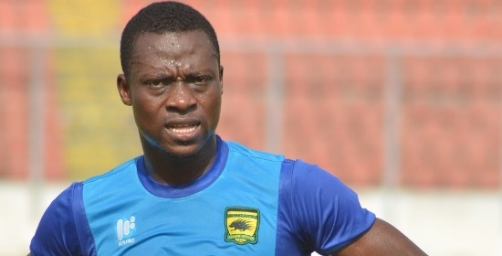 Asante Kotoko defender Awudu Nafiu hopes for massive season to conciliate abysmal Africa campaign