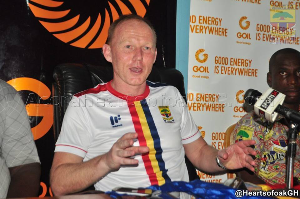 Hearts of Oak closing gap at the top but head coach Frank Nuttall not get carried away