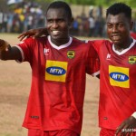 Kotoko striker Obed Owusu ruled out for a month with a thigh injury