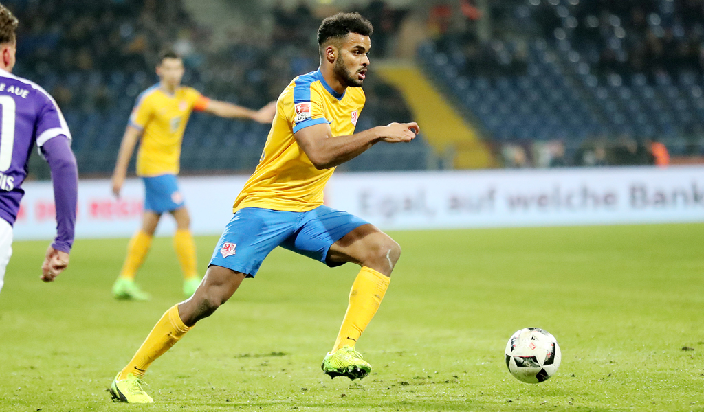 Ghana defender Phil Ofosu-Ayeh unhappy with Braunschweig draw against Erzgebirge in German Bundesliga II