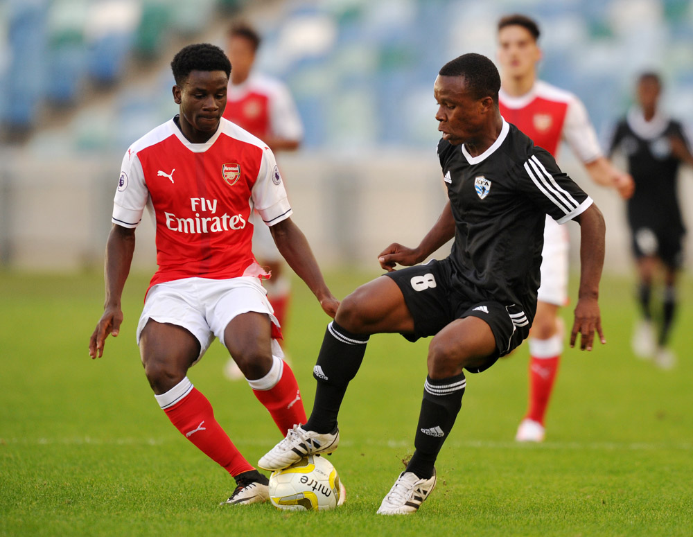 Ghanaian youngster Jordi Osei-Tutu powers Arsenal U-23 to victory over Man City U-23