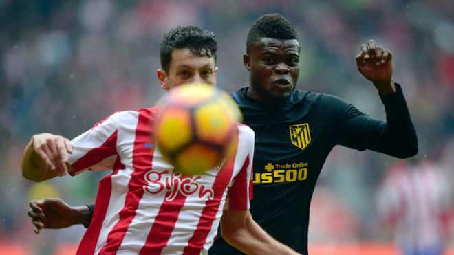 Atletico Madrid boss Diego Simeone shows faith in Thomas Partey again
