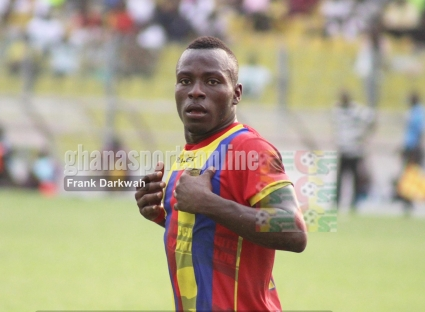 Hearts of Oak fans taunt wideman Patrick Razak after poor show against Medeama
