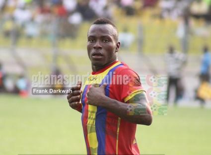 Hearts coach Nii Odoom invites Patrick Razak to train with the club