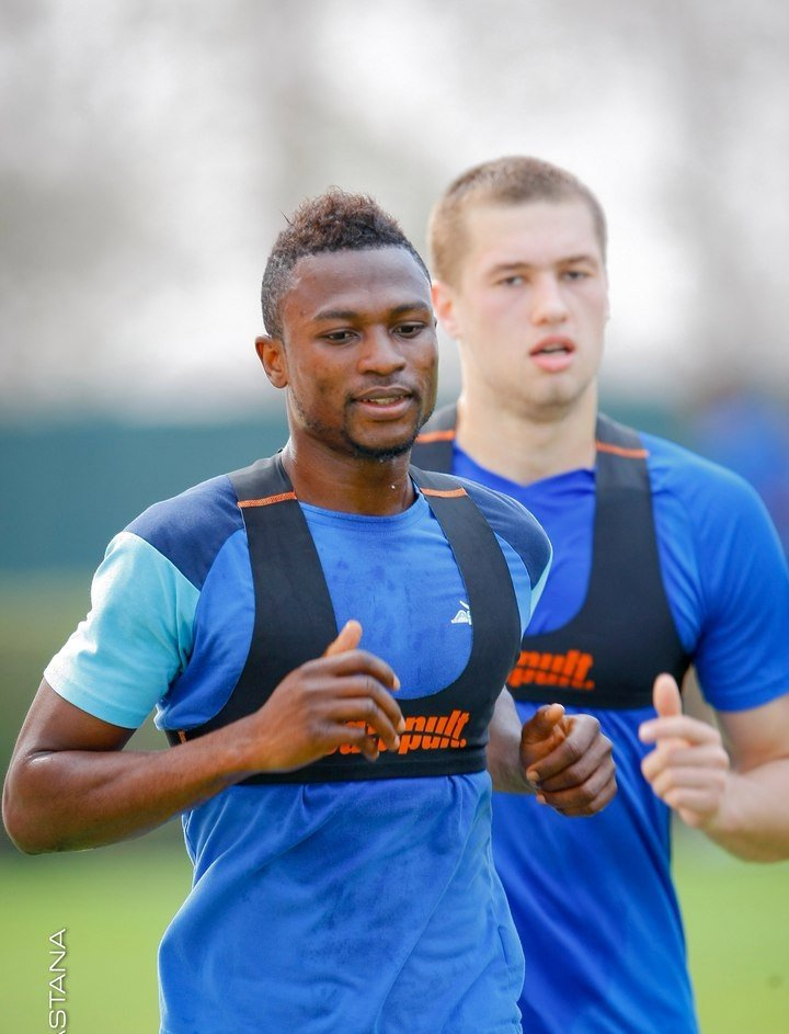 Ghanaian attacker Patrick Twumasi keen to win Kazakh Super Cup crown with Astana on Friday