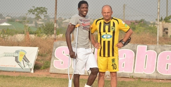 Asante Kotoko crock Evans Quao vows to return stronger and better