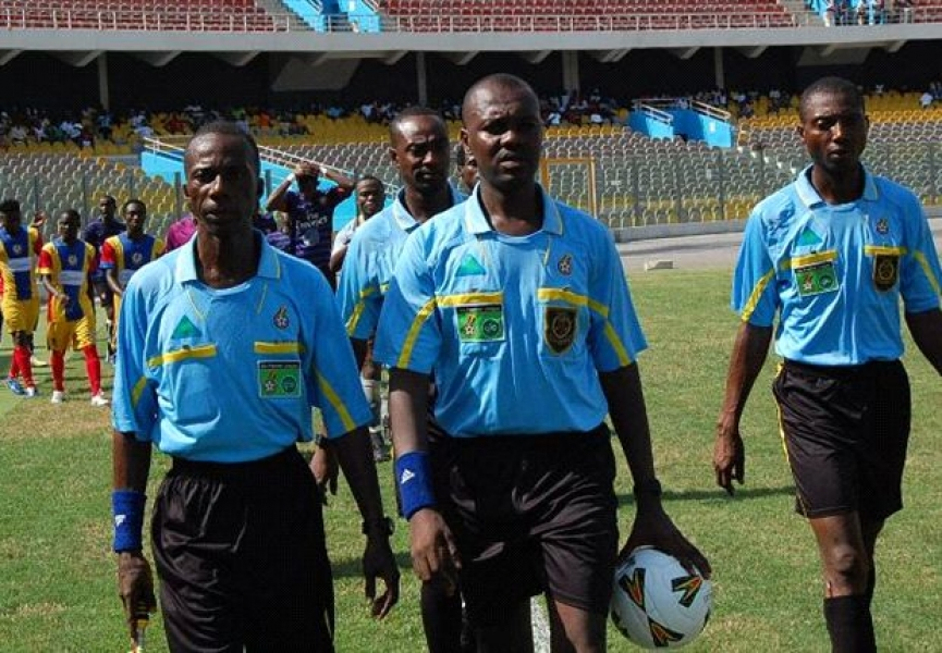 Referee Kyeremeh Yeboah to handle Ebusua Dwarfs-Hearts cracker; Match officials named