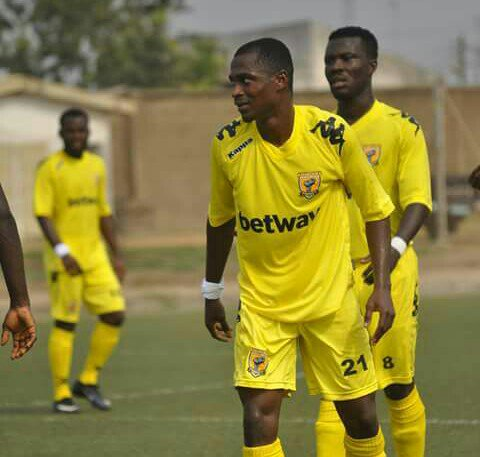 AshantiGold ace Roland Amouzou delighted with Miners early form in Ghana Premier League