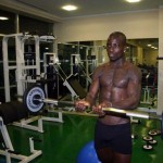 VIDEO: Ghana legend Stephen Appiah works out with daughter in the gym