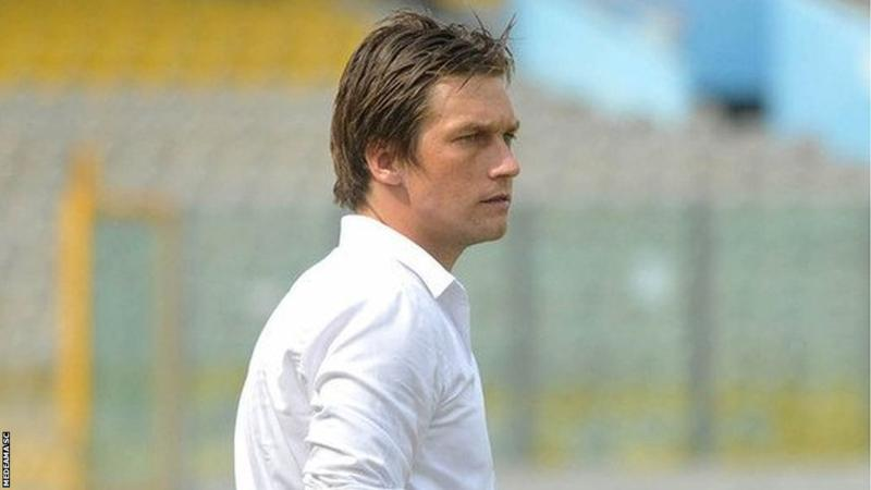 Ex-Medeama coach Tom Strand watched side's barren draw against Hearts on Sunday