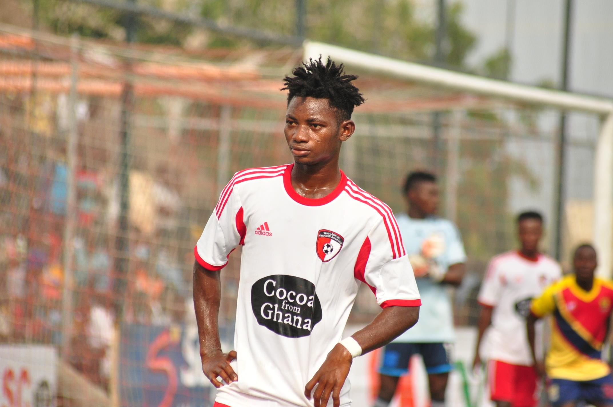 WAFA SC captain Gideon Waja satisfied with early season form