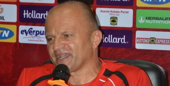 Asante Kotoko coach Zdravko Lugarusic confident of win against tough Bechem United