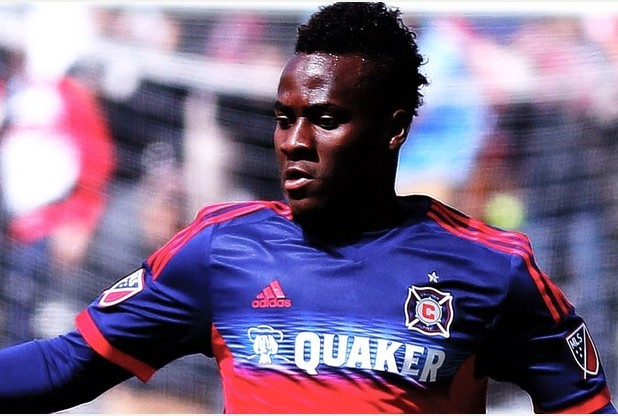 Chicago Fire's Ghanaian striker Accam linked with bumper China move
