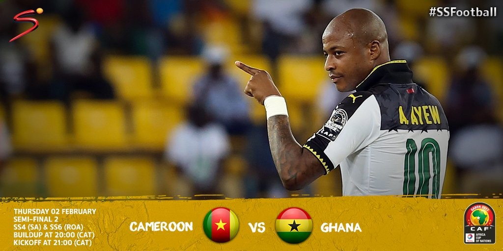 Re-live: Cameroon 2-0 Ghana - AFCON 2017