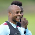West Ham boss Slaven Bilic to start Ayew against Leicester after improved form