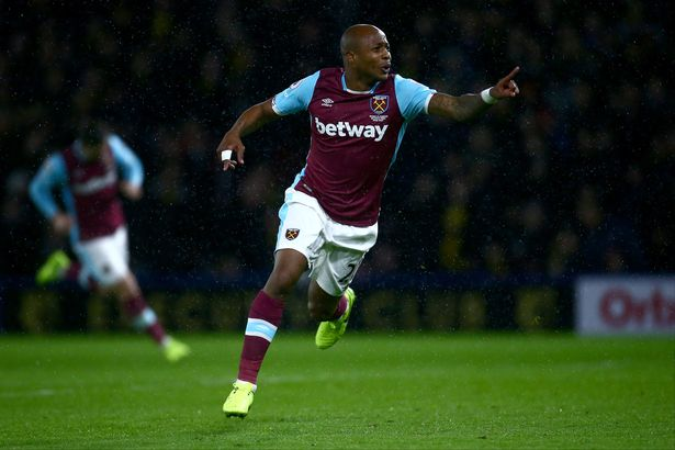 Ghana ace Andre Ayew wants to score more goals for West Ham after heroics in Watford draw