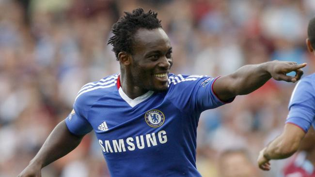 Essien rated Chelsea's 2nd best Africa footballer of all times in the EPL by ESPN