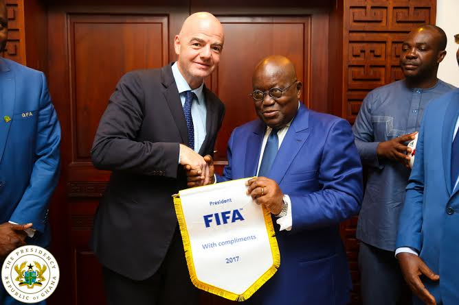 FIFA President Infantino wants 'capable' Africa to win World Cup