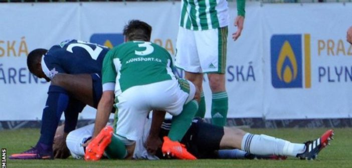Togolese striker Francis Kone saves opponent's life in Czech Republic