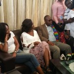 PHOTOS: Kwesi Nyantakyi arrives home after re-election onto FIFA Council
