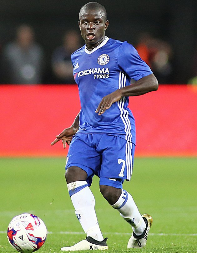 Chelsea star Kante full of smiles at Leicester! - Ghana ...