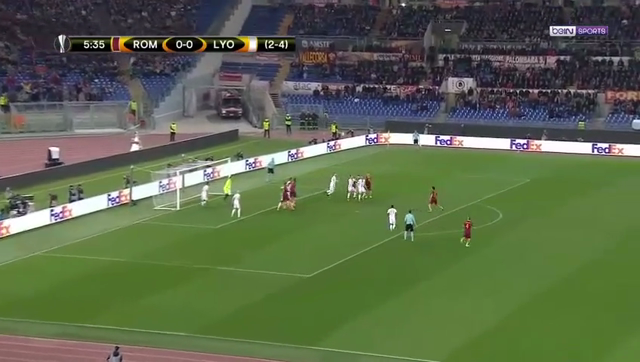 VIDEO Roma 2 – 1 Lyon (Europa League) Highlights