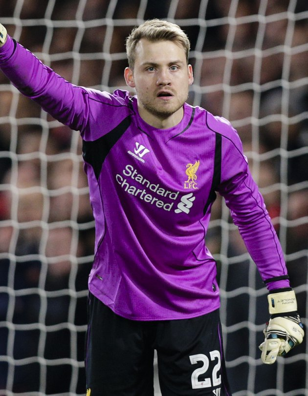 Liverpool keeper Mignolet looks forward to Merseyside derby with Belgium team-mates