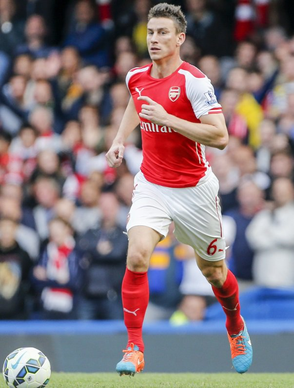 ​Koscielny to stick with Arsenal