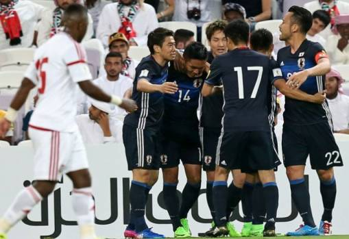 Russia 2018 Asian Qualifiers: United Arab Emirates 0-2 Japan