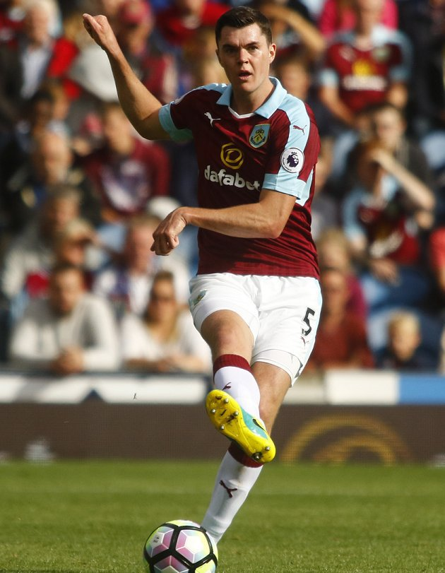 Liverpool chasing Burnley defender Michael Keane