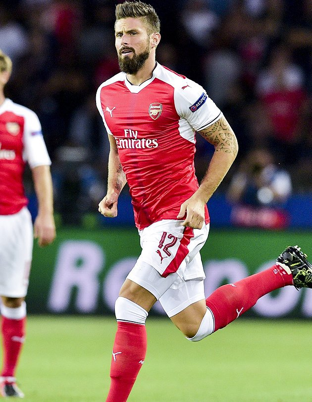 Arsenal striker Giroud: Scorpion goal was pure instinct