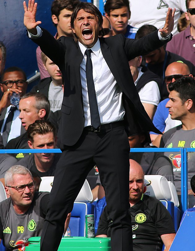 Chelsea powerbrokers Conte, Emenalo clash over striker transfer plans