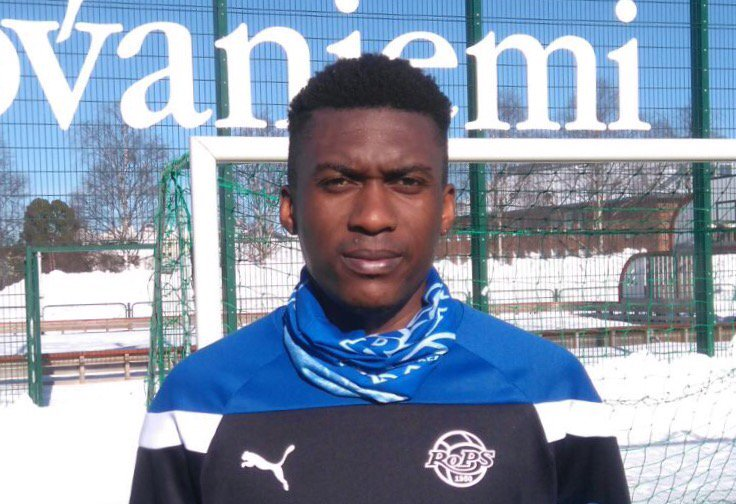 Left back David Addy signs short-term deal with Finnish top-flight side RoPS