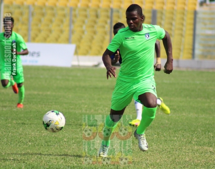 Bechem United star Amed Toure lands in Abidjan for ASEC Mimosas talks- reports