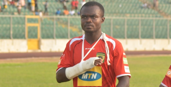 Kotoko boosted ahead of Elmina Sharks clash after captain Amos Frimpong returned to training