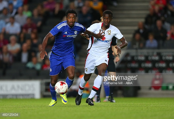 English outfit MK Dons part ways with Ghanaian kid Andrew Osei-Bonsu after 10-years