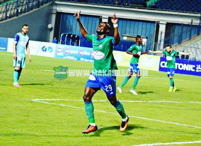 John Antwi scores in Misr El-Maqasa's defeat to Al Ahly in Egyptian Premier League