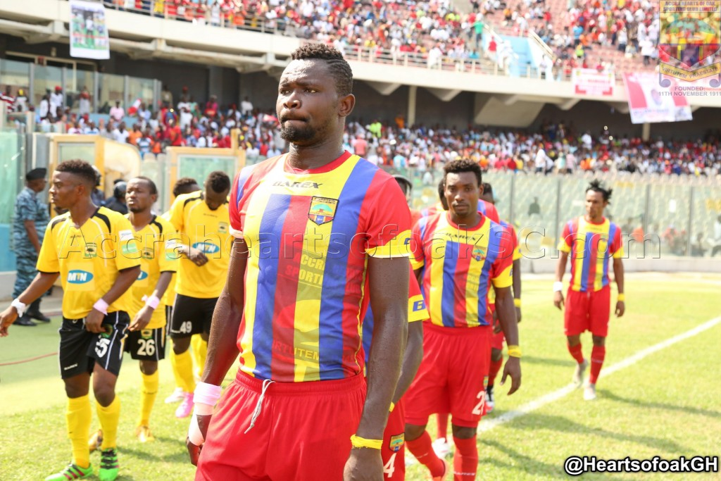 Hearts defender Vincent Atinga elated with maiden Black Stars call-up