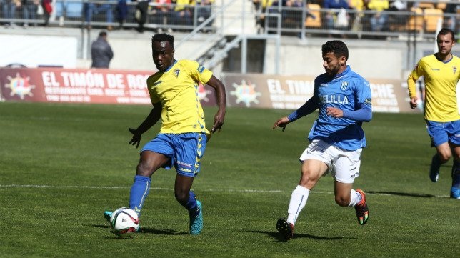 Ghanaian midfielder Nana Asare scores for Fuenlabrada in 4-0 win over Albacete in Spanish Segunda B