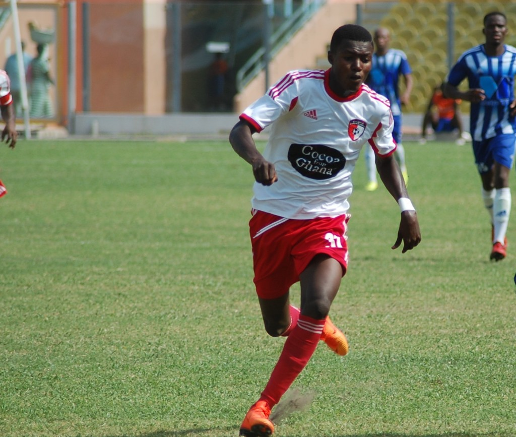 WAFA SC enterprising kid Richard Danso to leave for RB Salzburg trial next month