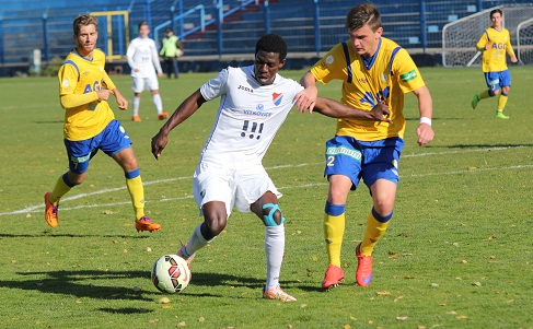 Former Ghana U20 star Derrick Mensah joins Slovenian side Aluminij from Karvina