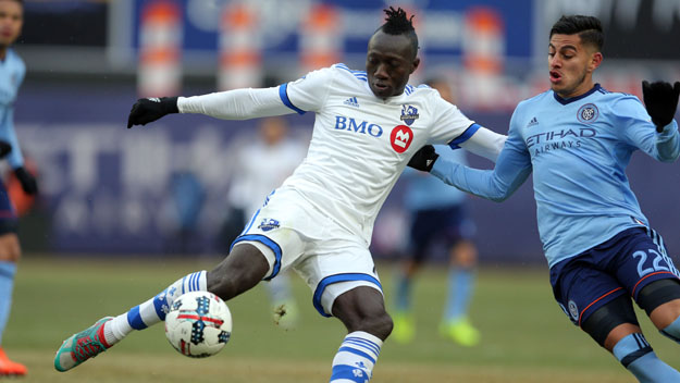 Ghana striker Dominic Oduro scores to help Montreal Impact earn a draw at NY City FC
